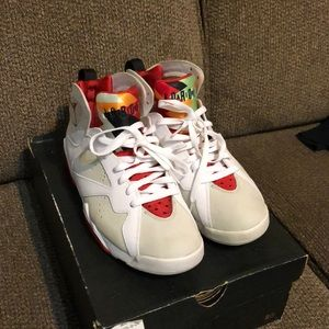 Air Jordan hare 7's size 9.5